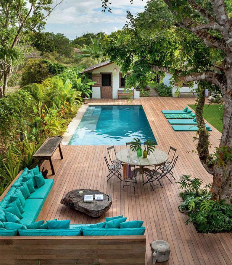 10 piscinas que fizeram sucesso no Pinterest em 2015