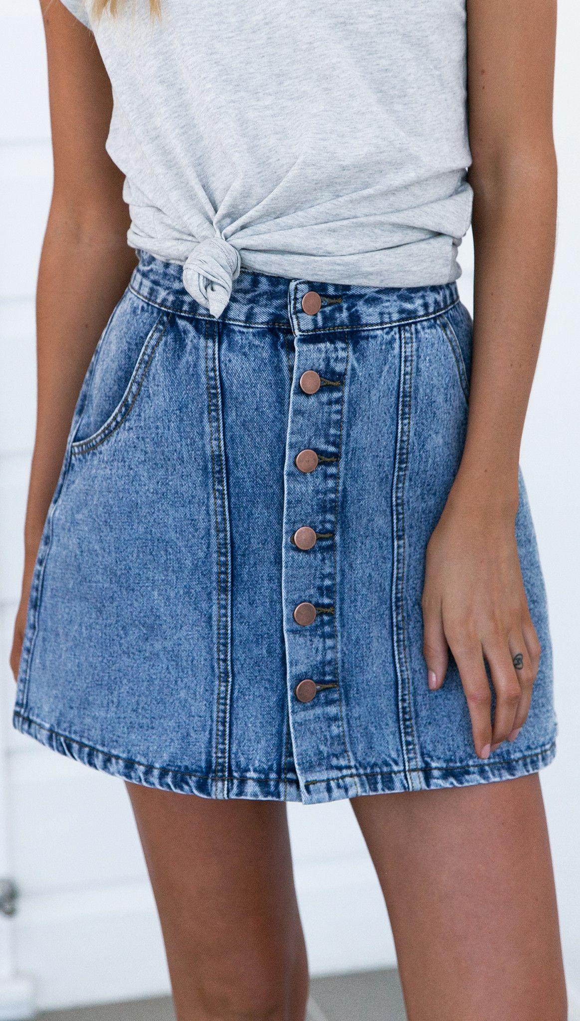 Northern Blues Skirt