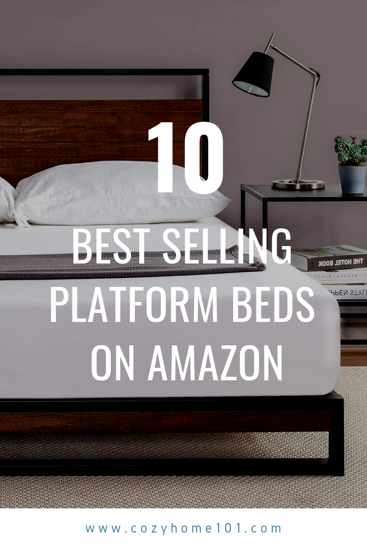 Top 10 Best Selling Platform Beds On Amazon In 2019 With Images