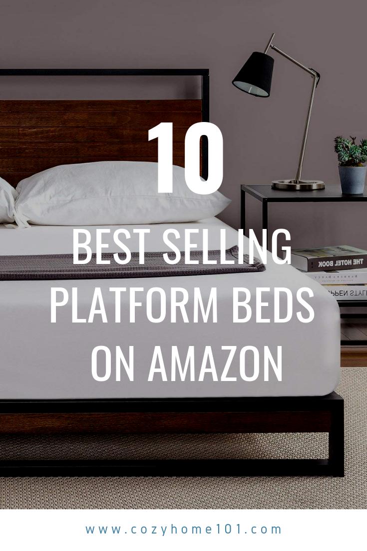 10 Best Selling Platform Beds On Amazon Platform Bed King Size