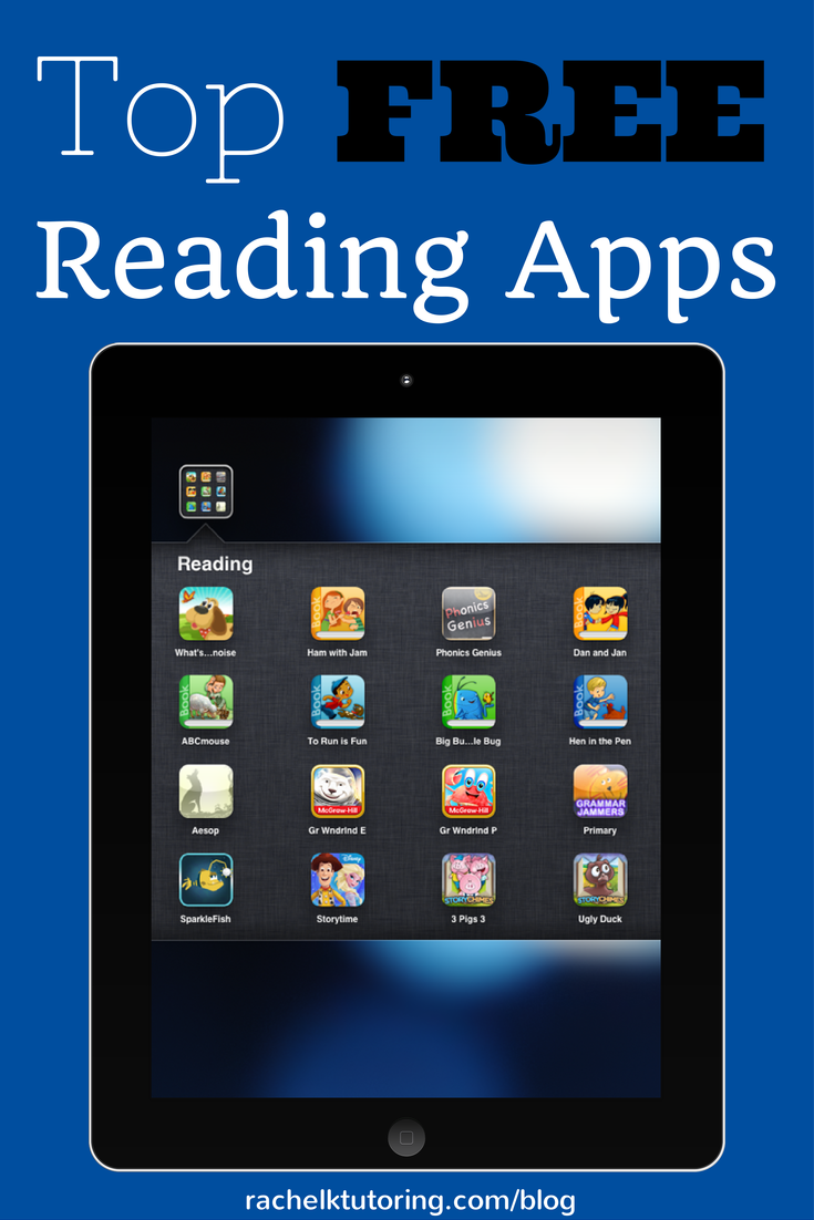 Top Free Reading Apps Learning apps, Teaching technology