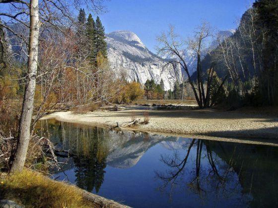 El parque californiano de Yosemite.
