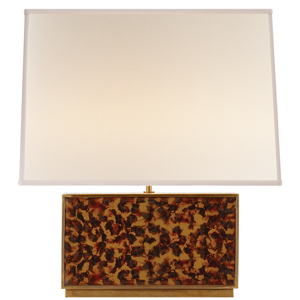 Marvelous Love The Tortoise Shell Effect On This Beecher Buffet Lamp From Aerin.  Buffet LampsGlass Table ...