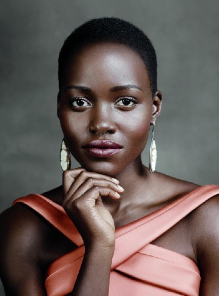 Nyongo lupita named new face of lancome rare photo