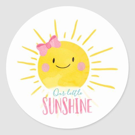 Sun and Cloud Birthday Pink Hello Sunshine Cake Toppers Baby Shower Cake Toppers My Little Sunshine Sunshine Party
