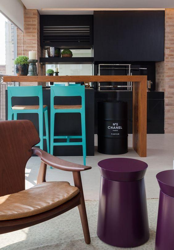 Dicas E Modelos De Varandas Gourmet · Open KitchenTall ...