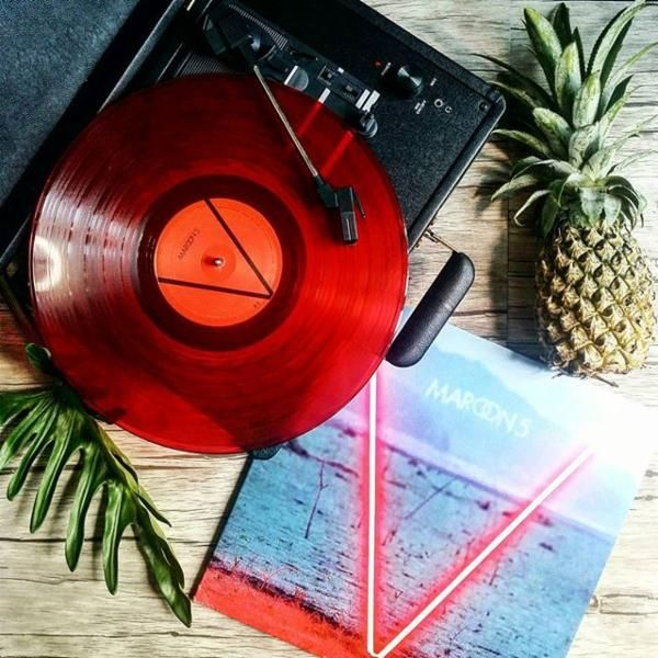 V vinyl by Maroon 5 from Urban Outfitters                                                                                                                                                                                 More