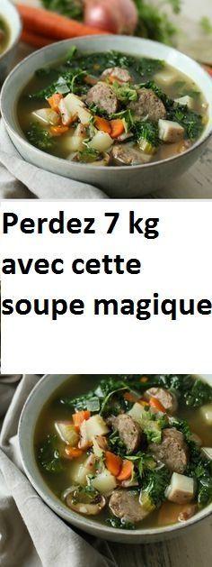 Perdez 7 kg avec cette soupe magique | cuisine | Soupe
