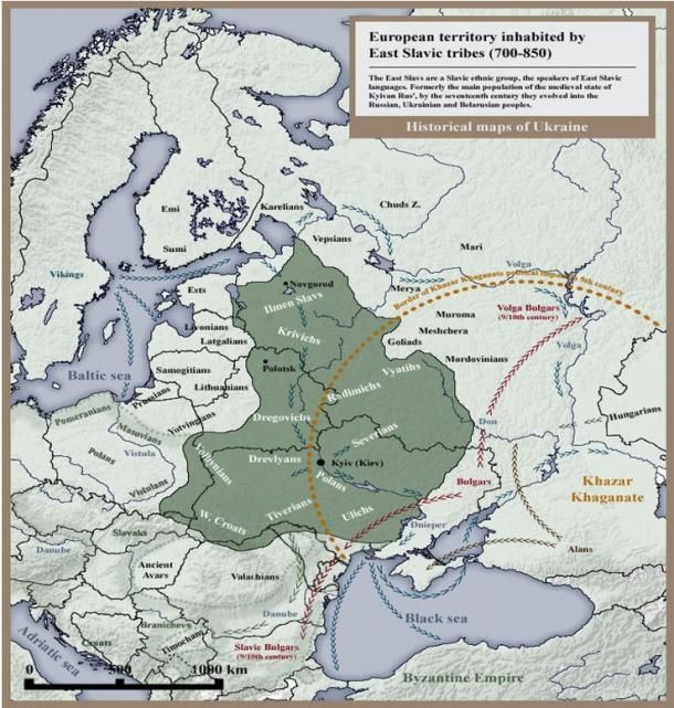 Rus Varangians Map And