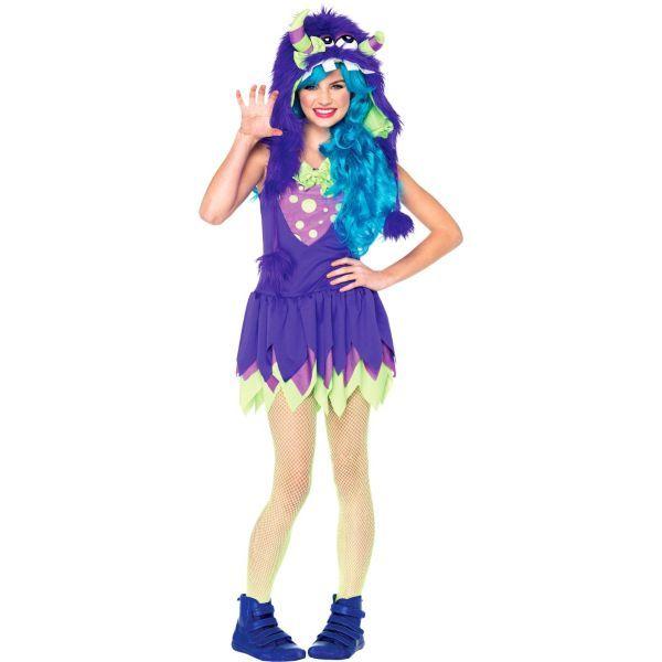 Teen Girls Gerty Growler Monster Costume maquillage halloween - halloween girl costume ideas