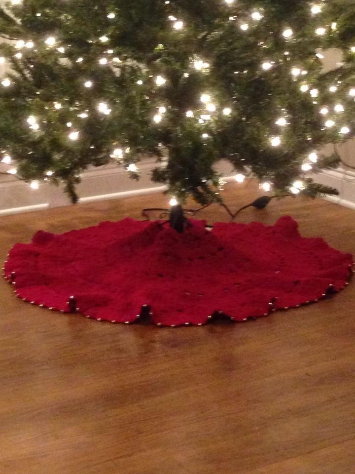 poshlynne\u0027s Christmas Tree Skirt Tree skirts, Christmas tree and
