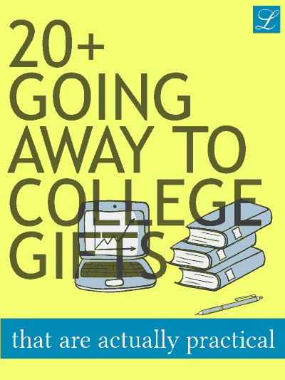 20 Off To College Gifts Ideas For Guys Girls