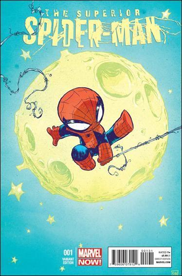 "Superior Spider-Man #1 Skottie Young ""Baby"" Cover"