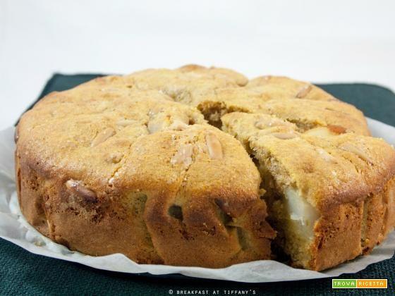 Torta soffice integrale alle pere con pinoli / Wholewheat pear & pine nuts cake recipe  #ricette #food #recipes