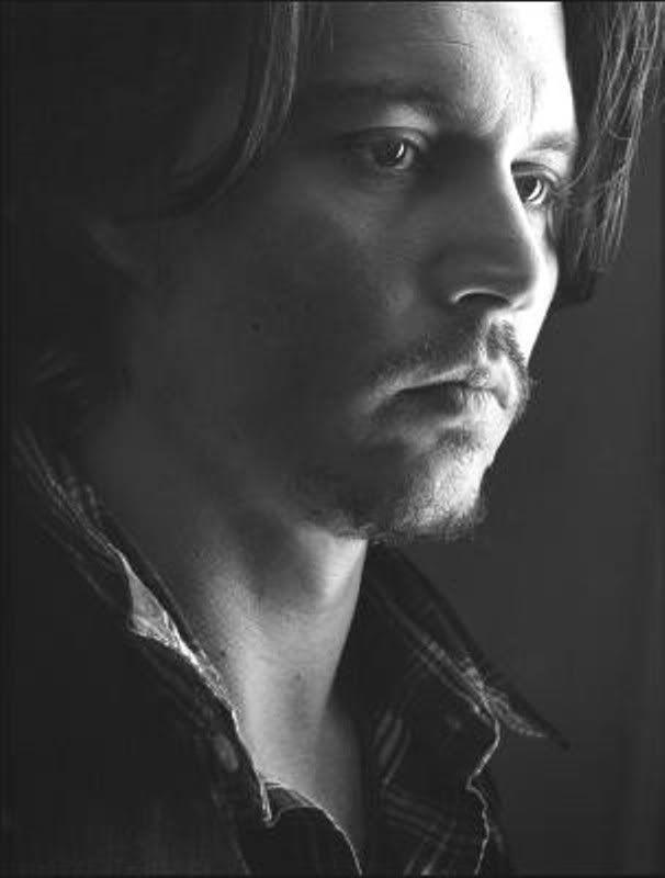 Close up of Johnny Depp