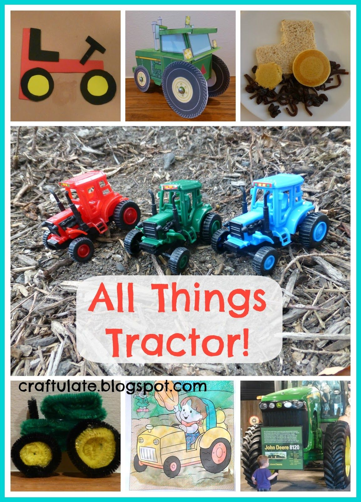 The Next Vehicle In Our Transportation Series Is The Tractor I Had To Ask My Husband Whether It