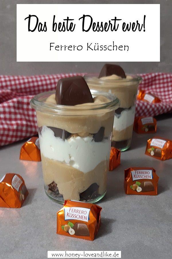 Das beste Ferrero Küsschen Dessert zu Weihnachten