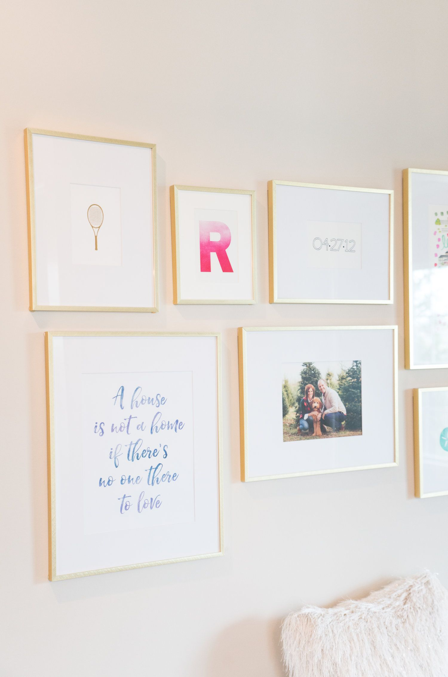 Creating An Intentional Gallery Wall Gallery Wall Small Gallery