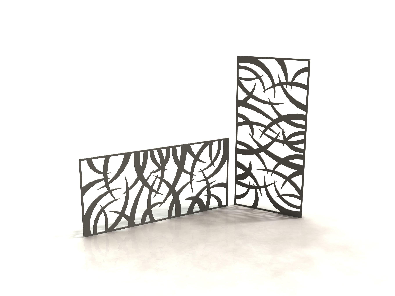 Jungle panneau design d coupe laser laser cut panels racken racken metal made in - Metal a la decoupe ...