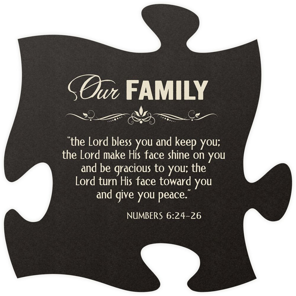 Our Family Quote Puzzle Piece Puzzle quotes, Family