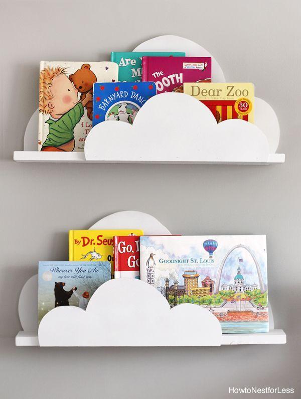 Photo of DIY Cloud Bookshelf Ledges + The Creative Corner #85: DIY, Craft & Home Decor Li…