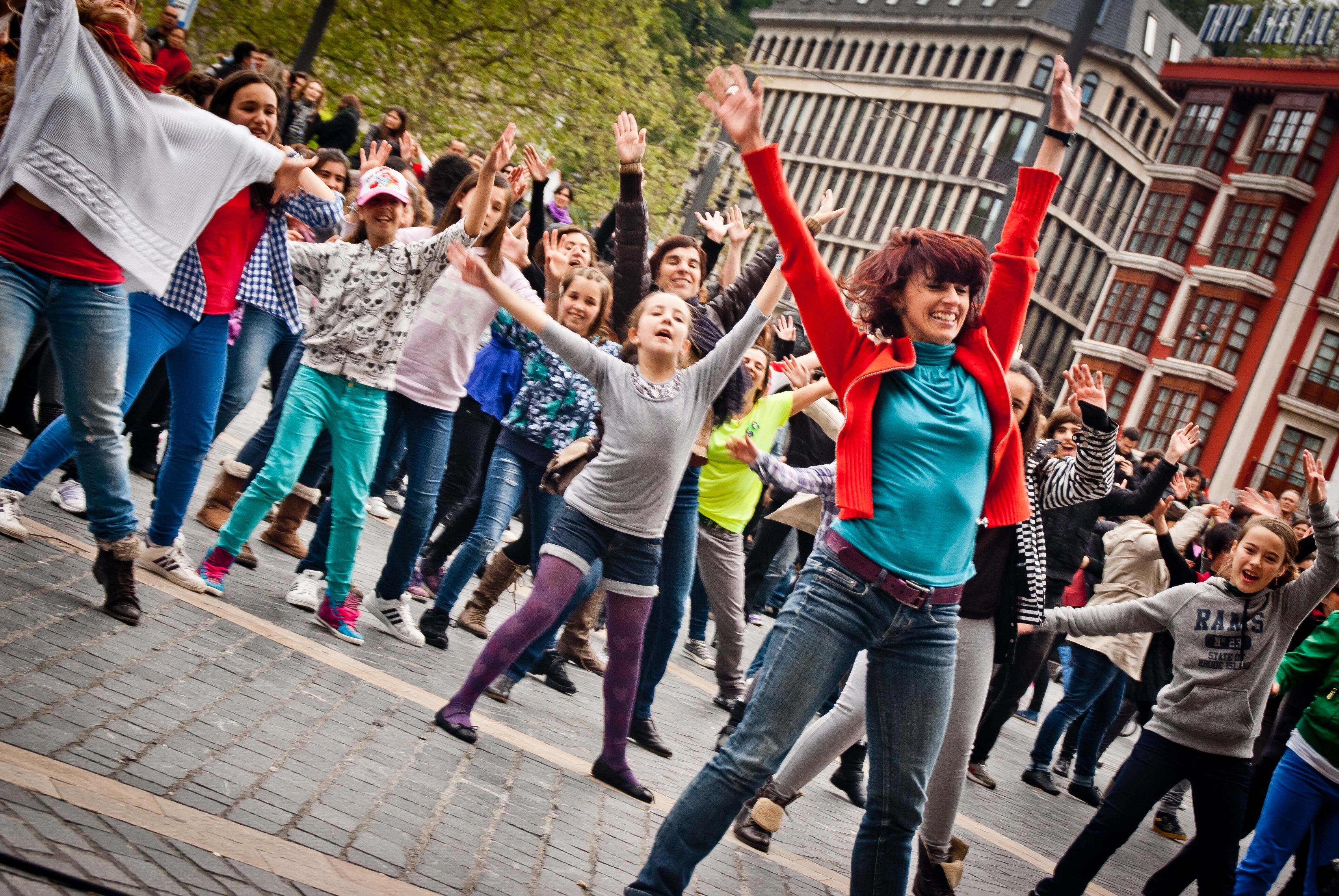 Flash Mobs should be banned. Pointless Narcissism.