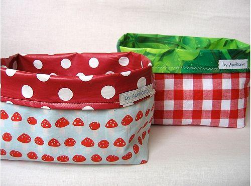 Kostenloses Schnittmuster für Utensilos | creative sewing ...
