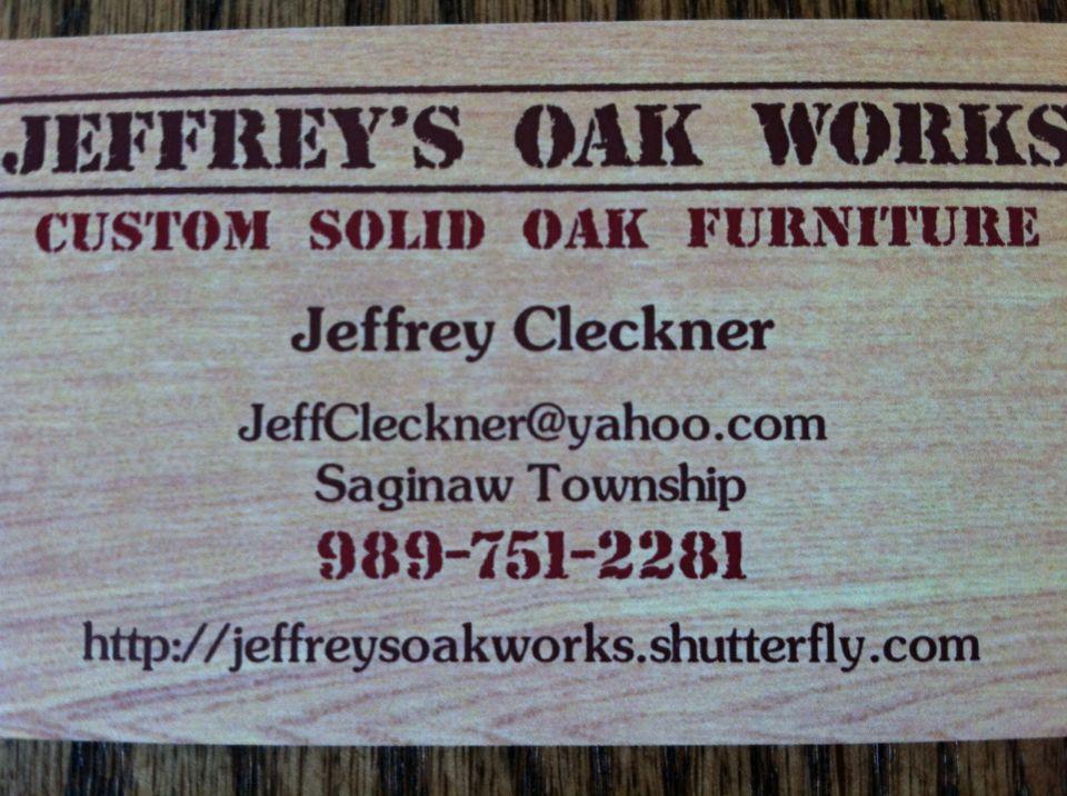 Jeffrey's Oak Works