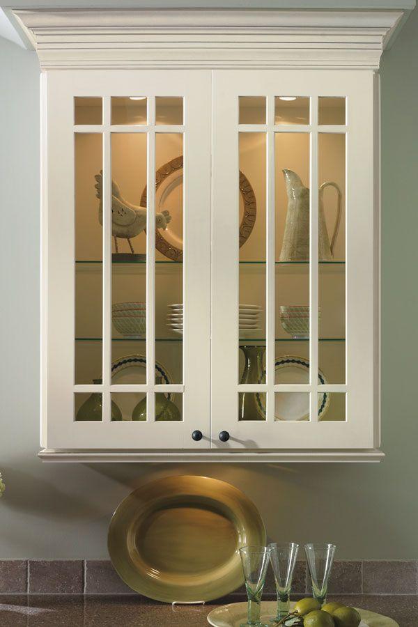 Prairie Mullion Cabinet Doors - Diamond Cabinetry | Kemper | Pinterest