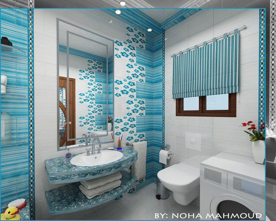 kids bathroom by noha m hamdi