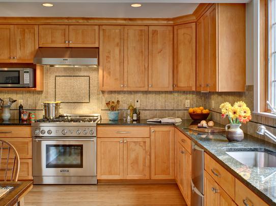 Best Maple Veneer,Copy Solid Wood Veneer Kitchen Cabinet 640 x 480