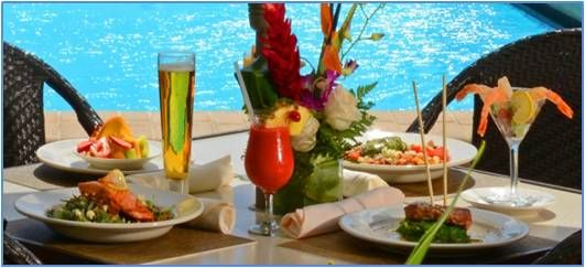 Dining at Fort Lauderdale Resorts wtih Private Beaches - Ft. Lauderdale Beach Hotels with Dining