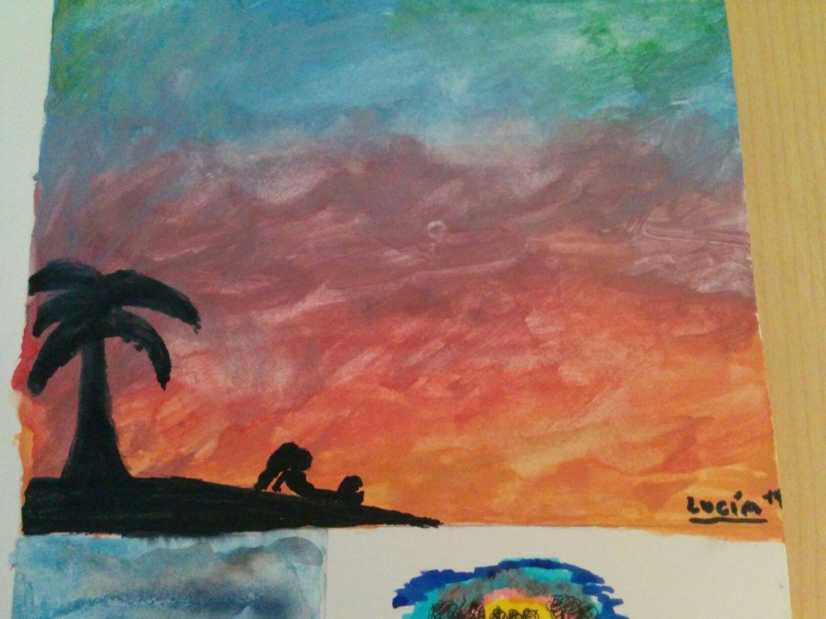 Isla Desierta Islas Sirenas Pinturas