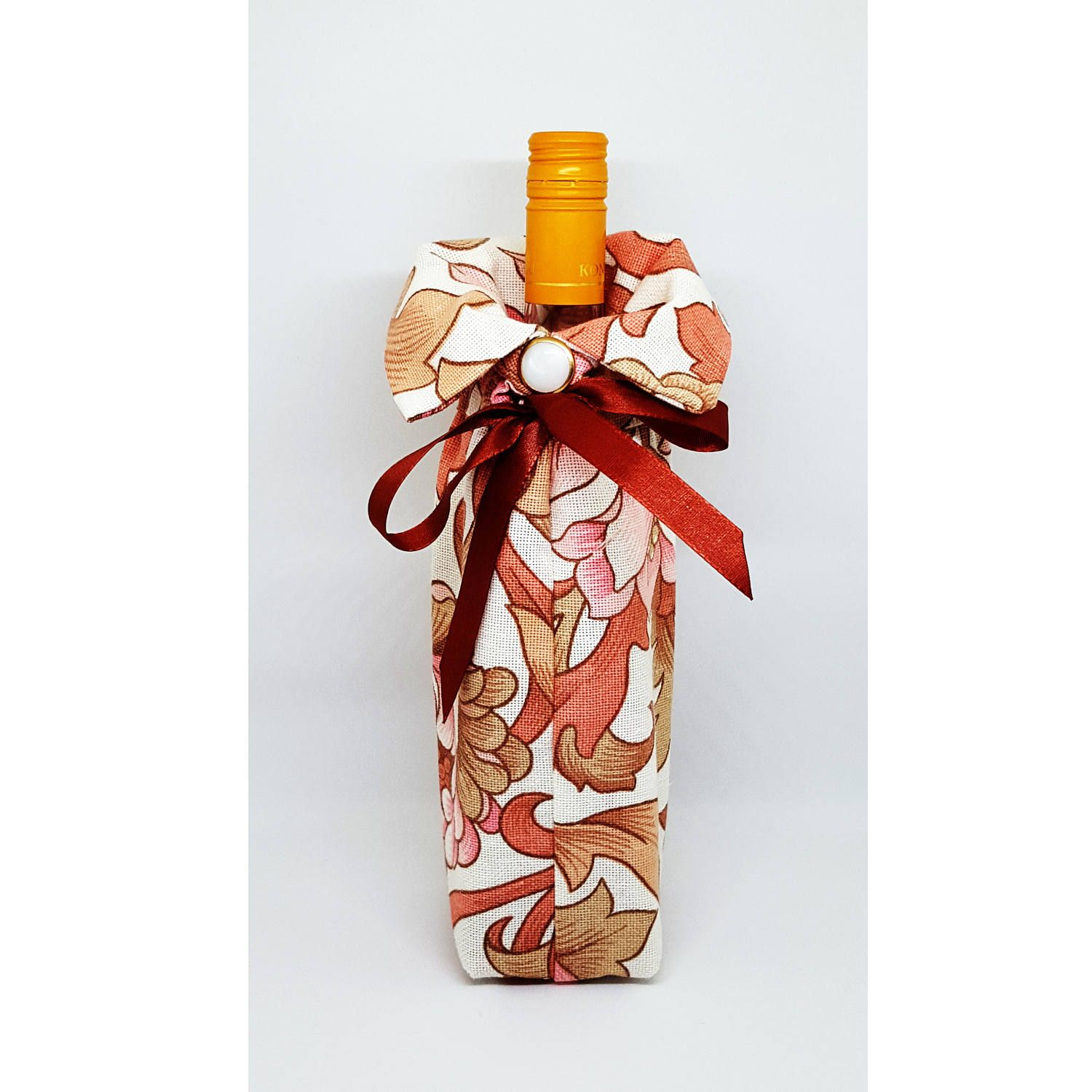 Pink wine cozy bottle cover gift bag hostess gift holder tote pink wine cozy bottle cover gift bag hostess gift holder tote sleeve hugger jacket carrier negle Image collections
