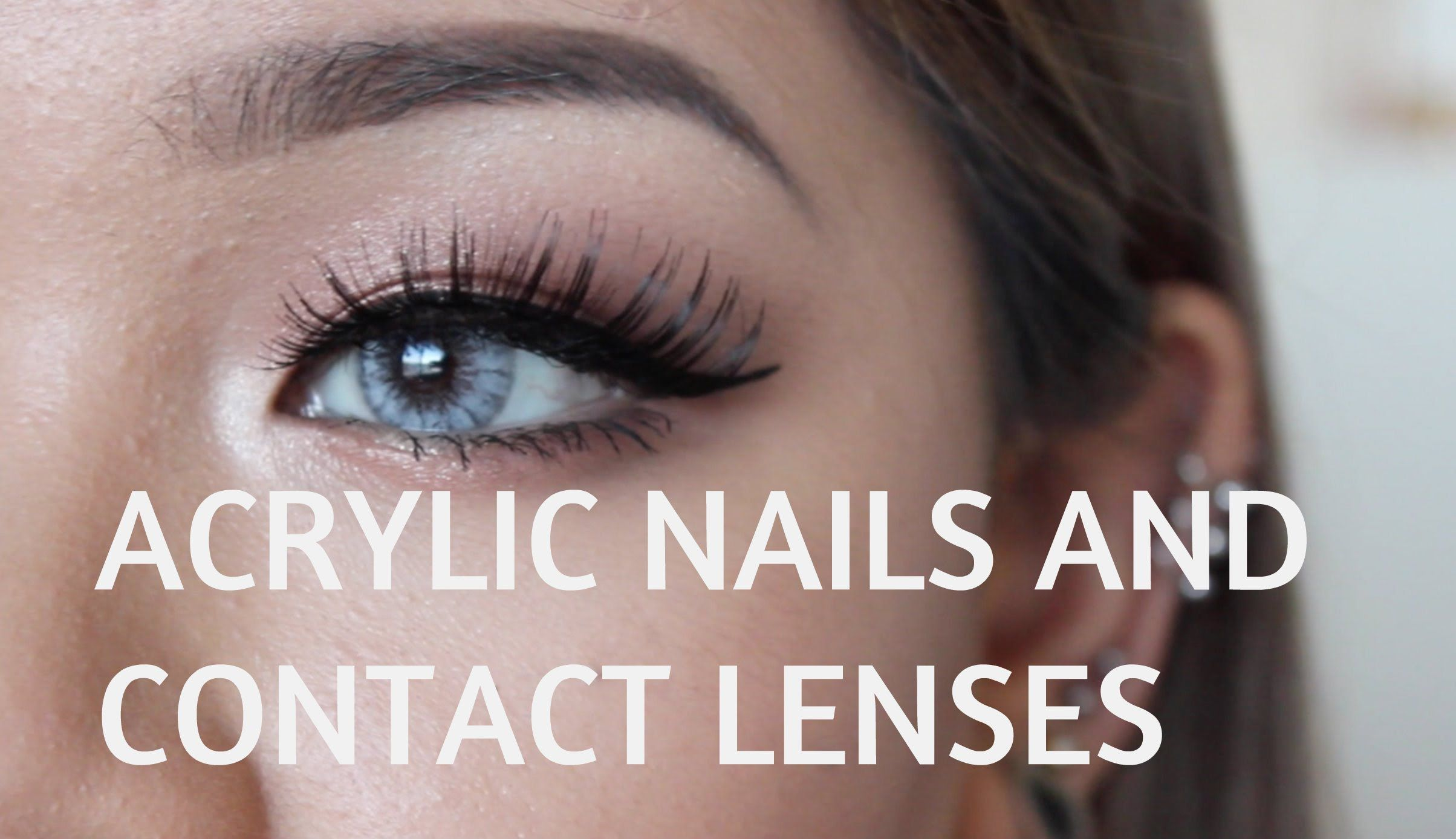 How To Remove Contacts With Acrylic Nails Acrylic Nails Nail Designs Unique Nails