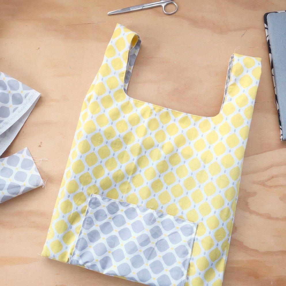 ...reusable shopping bag free pattern Diy bags
