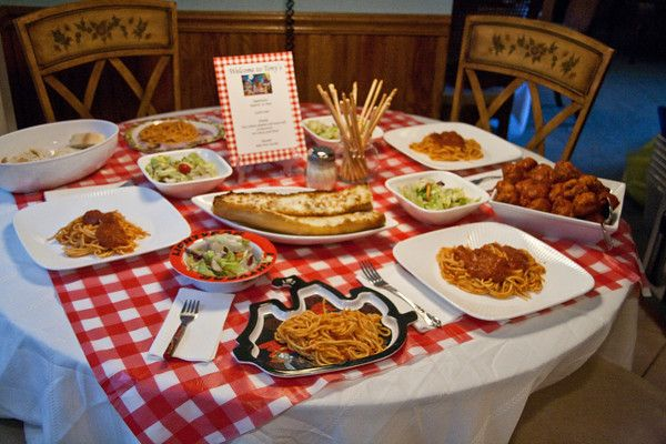 Disney Theme Night Ideas Here Lady The Tramp Family Dinner Night Movie Night Dinner Dinner Themes