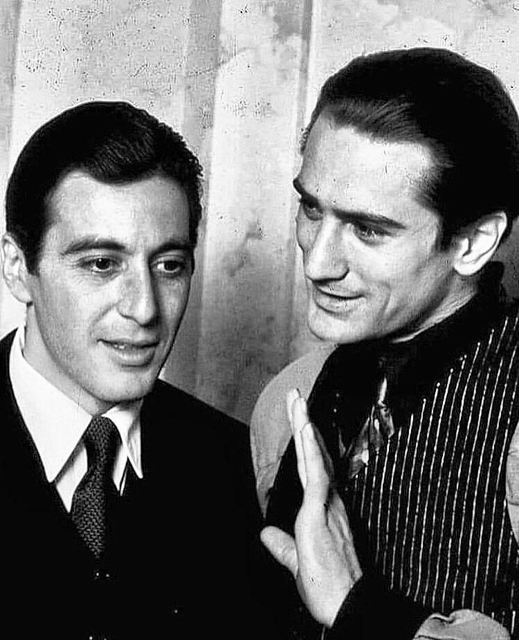 Al Pacino Robert De Niro Con Imagenes Robert De Niro