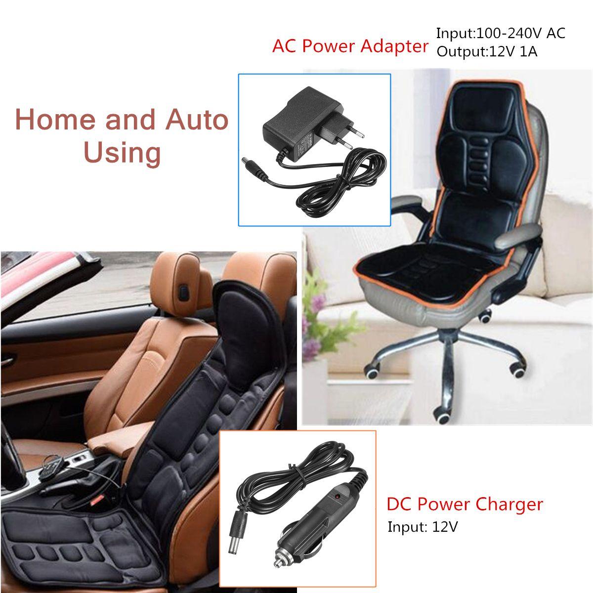 8 Mode 3 Intensity Car Chair Heat Full Body Heated Massage Mat