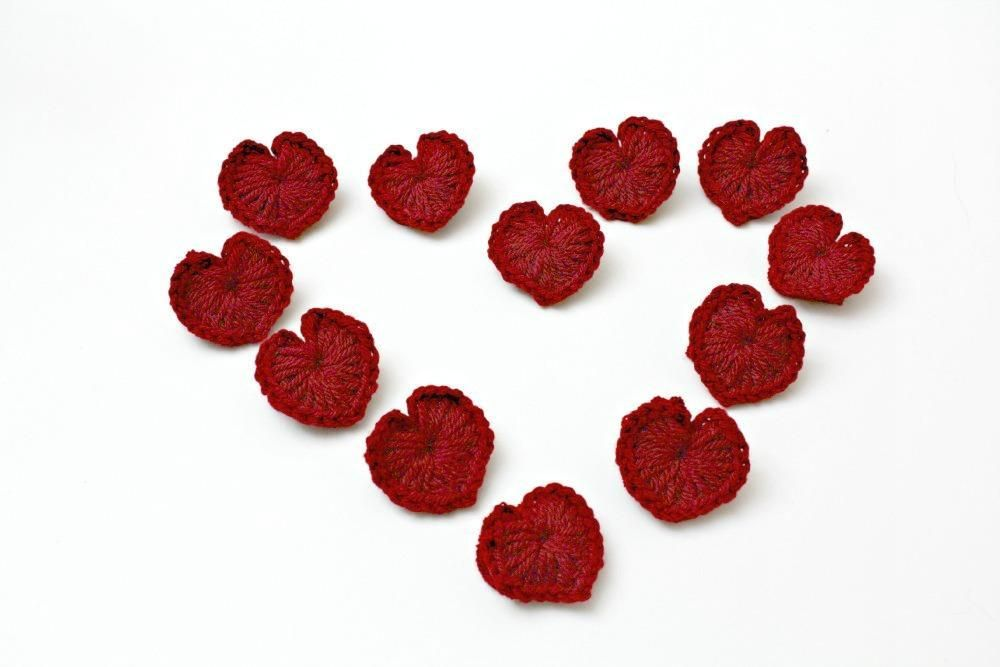 FREE Crochet Puffy Heart | Pinterest
