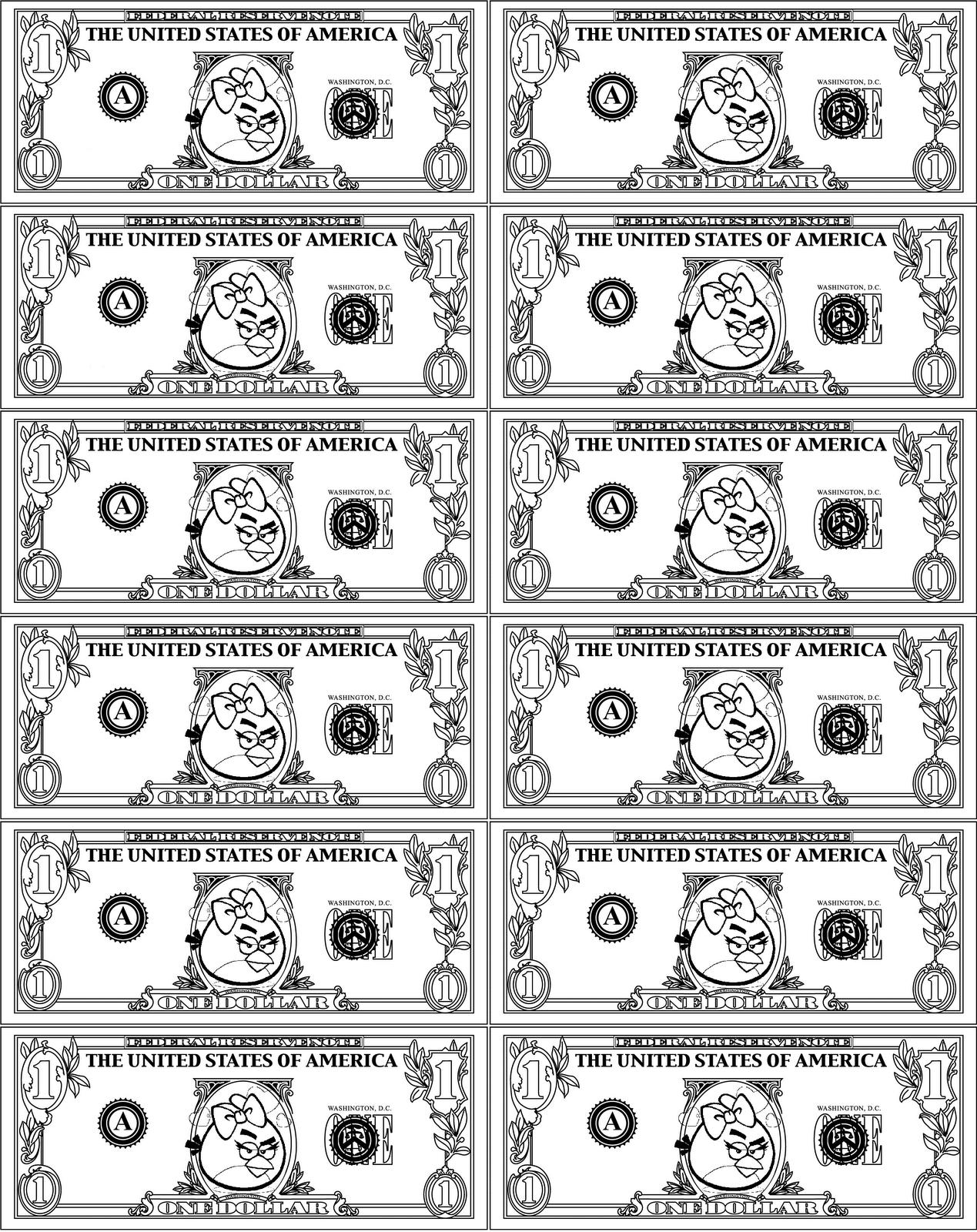 Printable Play Money For Kids Printable Play Money Play Money Fake Money Printable