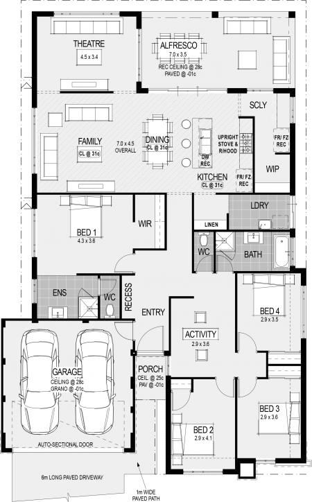 Procida Classico Mk2 Special Floorplan House Blueprints New House Plans Home Design Floor Plans