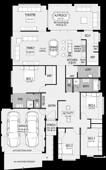 Procida Classico Mk2 Special Floorplan New House Plans House Blueprints Home Design Floor Plans