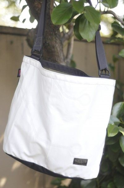 7dcb2f28aa Upcycle Fever: The Airbag Tote | Next Up | Upcycle, Recycled crafts ...