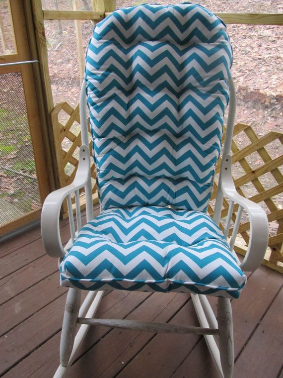 Custom Made Rocking Chair Cover Etsy Porch Pinterest