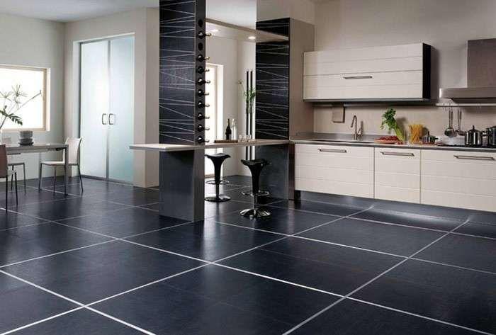 Abbinare il pavimento al rivestimento della cucina abbinare il