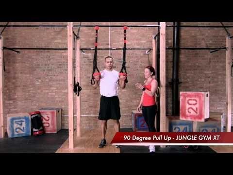 Lifeline jungle gym xt assisted pull up progression youtube