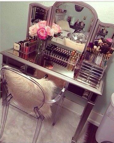 ✦⊱ɛʂɬཞɛƖƖą⊰✦ Bedroom Makeover Pinterest Vanities, Mirror