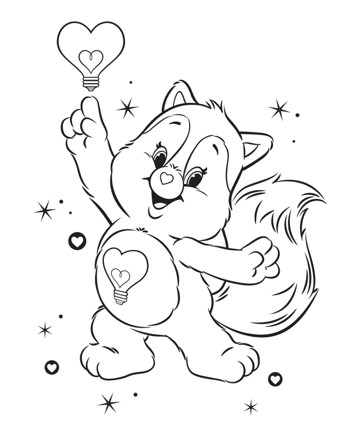 raccoon tune coloring pages - photo#2