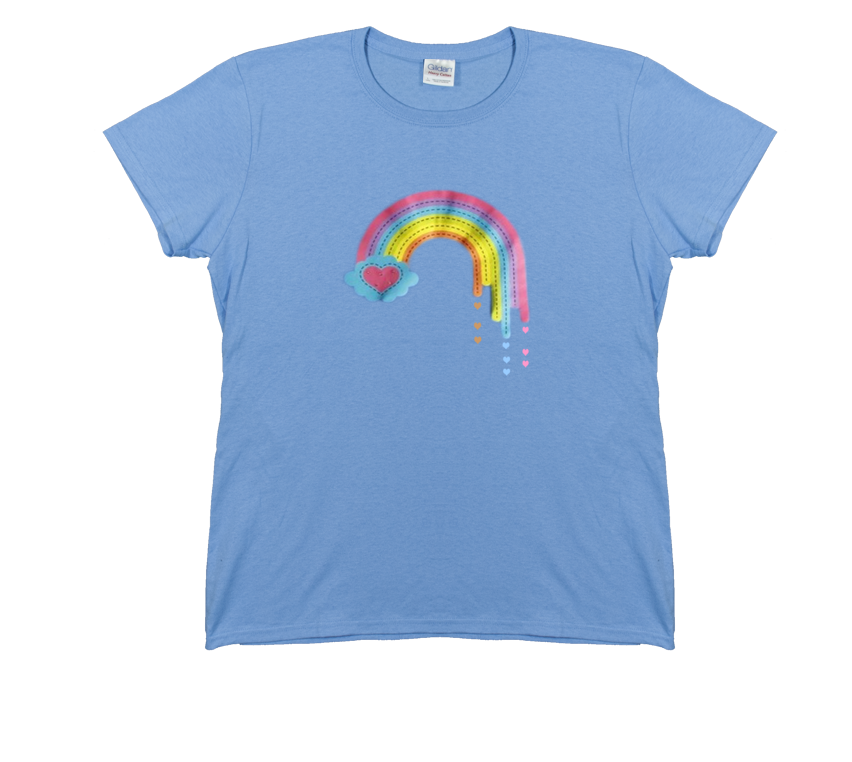 Sophia Rainbow Tee - Just like on The Walking Dead. Printed on comfy 100% cotton. buymebreakfast.com